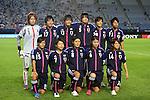 U-20U-20 Japan team group (JPN), AUGUST 19, 2012 - Football / Soccer : Japan team group (L-R) Sakiko Ikeda, Hikari Takagi, Ayaka Michigami, Haruka Hamada, Mayo Doko, Mina Tanaka, front; Yushika Nakamura, Nozomi Fujita, Hikaru Naomoto, Ayu Nakada, Hanae Shibata pose before the FIFA U-20 Women's World Cup Japan 2012 Group A match between Japan 4-1 Mexico at Miyagi Stadium in Miyagi, Japan. (Photo by Toshihiro Kitagawa/AFLO)