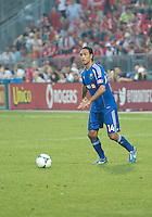July 3, 2013: Montreal Impact defender Alessandro Nesta #14 in action during an MLS game between Toronto FC and Montreal Impact at BMO Field in Toronto, Ontario Canada.<br /> The game ended in a 3-3 draw.
