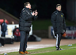 St Johnstone v St Mirren.....11.01.14   SPFL<br /> Tommy Wright gives instructions<br /> Picture by Graeme Hart.<br /> Copyright Perthshire Picture Agency<br /> Tel: 01738 623350  Mobile: 07990 594431