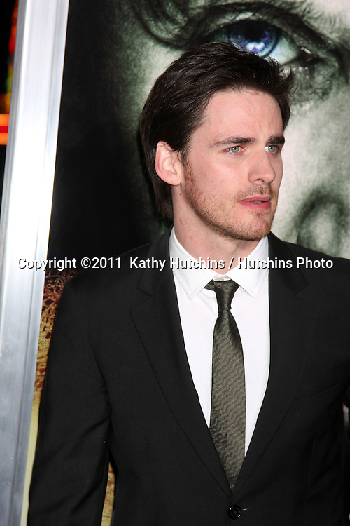 "LOS ANGELES - JAN 26:  Colin O'Donoghue arrives at ""The Rite"" Premiere at Grauman's Chinese Theater on January 26, 2011 in Los Angeles, CA"
