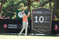 Gavin Green (MAL)during the first round of the Turkish Airlines Open, Montgomerie Maxx Royal Golf Club, Belek, Turkey. 07/11/2019<br /> Picture: Golffile | Phil INGLIS<br /> <br /> <br /> All photo usage must carry mandatory copyright credit (© Golffile | Phil INGLIS)