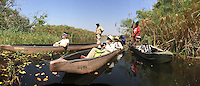 Touring the Okavango Delta by Mokoro Canoe