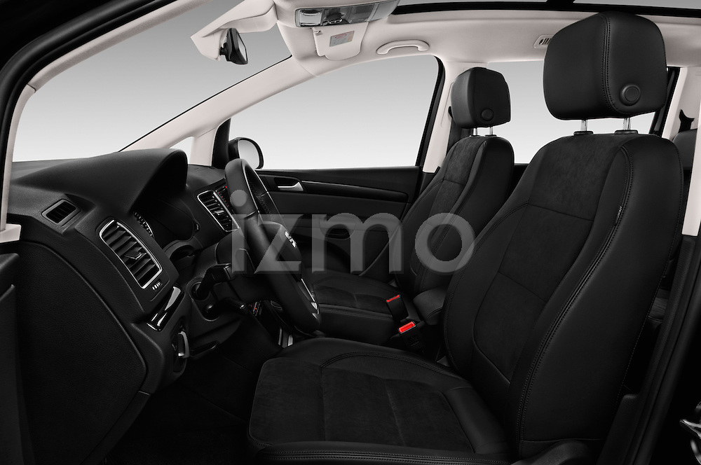 Front seat view of 2016 Seat Alhambra Style Advance 5 Door Minivan Front Seat  car photos