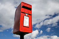 Postbox, Burford in the Cotswolds, United Kingdom
