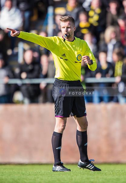 Solna 2014-03-23 Fotboll Tr&auml;ningsmatch AIK - Kalmar FF :  <br /> domare Glenn Nyberg     <br /> (Foto: Kenta J&ouml;nsson) Nyckelord:  AIK Gnaget Kalmar KFF Skytteholm Solna portr&auml;tt portrait