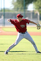 Bobby Borchering - Arizona Diamondbacks - 2010 Instructional League.Photo by:  Bill Mitchell/Four Seam Images..