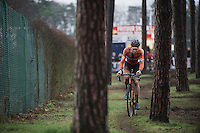 Mathieu Van der Poel (NLD/BKCP-Corendon)<br /> <br /> Men's Elite Race<br /> <br /> UCI 2016 cyclocross World Championships,<br /> Zolder, Belgium