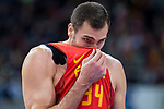 Spain Pablo Aguilar during European Qualifiers to China 2019 World Cup match between Spain and Montenegro at Principe Felipe Stadium in Zaragoza , Spain. February 22, 2018. (ALTERPHOTOS/Borja B.Hojas)
