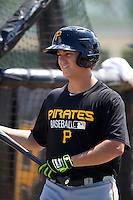Pittsburgh Pirates Logan Ratledge during instructional league practice on October 2, 2015 at Pirate City in Bradenton, Florida.  (Mike Janes/Four Seam Images)
