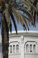 Afrique/Afrique du Nord/Maroc /Casablanca: la ville moderne détail architecture Art-Déco de la poste Boulevard Mohamed V