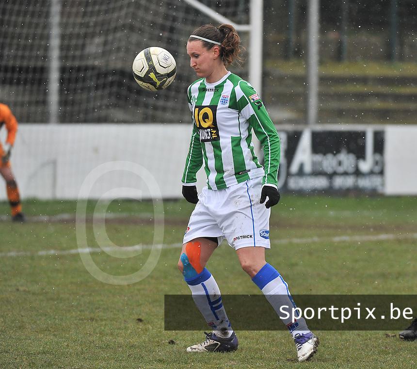 Club Brugge Dames - PEC Zwolle : Lisanne Vermeulen .foto DAVID CATRY / Vrouwenteam.be