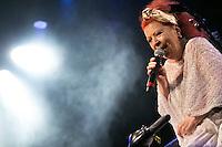 SÃO PAULO,SP. 06.07.2016 - SHOW-SP - Beth Carvalho durante apresentação no Sesc Belenzinho, na região leste de São Paulo na noite desta quarta-feiram 06. (Foto: Ciça Neder / Brazil Photo Press)