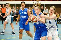 HAREN - Basketbal, Martini Sparks - Den Helder, Basketbal League vrouwen, seizoen 2018-2019, 08-11-2018,  Martini Sparks speelster Kirsten Simpson
