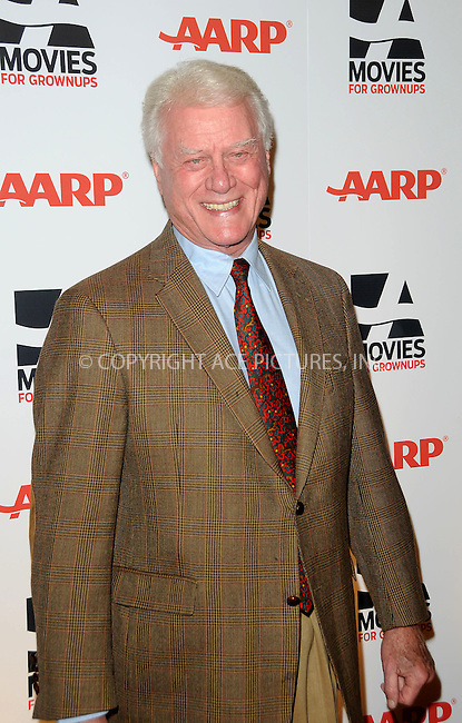 WWW.ACEPIXS.COM . . . . . ....February 7 2011, LA....Actor Larry Hagman arriving at the AARP Magazine 10th Annual Movies For Grownups Awards at the Beverly Wilshire Four Seasons Hotel on February 7, 2011 in Beverly Hills, CA....Please byline: PETER WEST - ACEPIXS.COM....Ace Pictures, Inc:  ..(212) 243-8787 or (646) 679 0430..e-mail: picturedesk@acepixs.com..web: http://www.acepixs.com