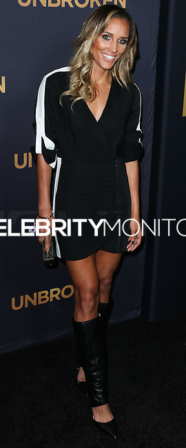 HOLLYWOOD, LOS ANGELES, CA, USA - DECEMBER 15: Lori Jones arrives at the Los Angeles Premiere Of Universal Pictures' 'Unbroken' held at the Dolby Theatre on December 15, 2014 in Hollywood, Los Angeles, California, United States. (Photo by Xavier Collin/Celebrity Monitor)