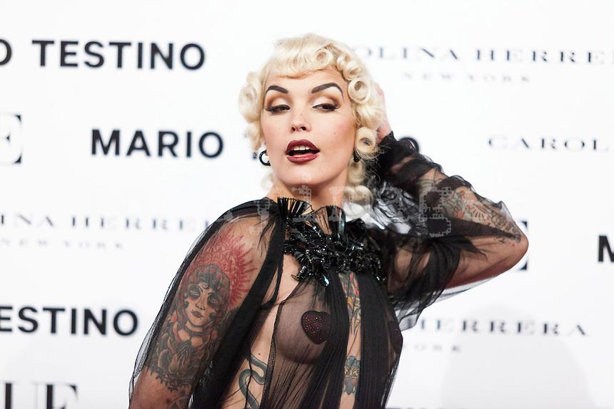 Vinila Von Bismarck at Vogue December Issue Mario Testino Party