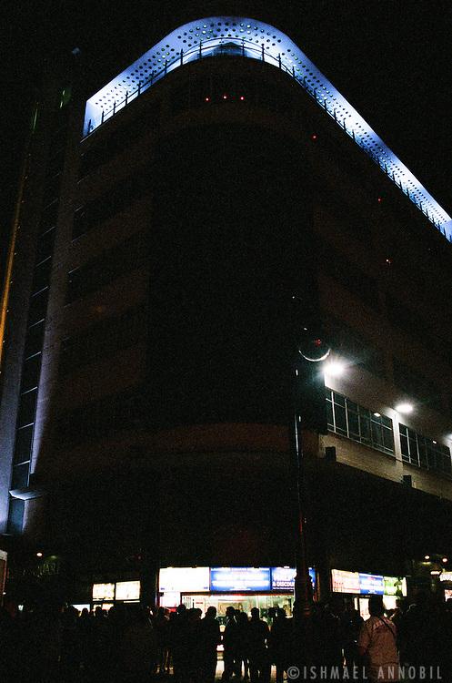Soho Roof Terrace at night