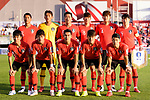 Team South Korea squad poses for photos during the AFC Asian Cup UAE 2019 Round of 16 match between South Korea (KOR) and Bahrain (BHR) at Rashid Stadium on 22 January 2019 in Dubai, United Arab Emirates. Photo by Marcio Rodrigo Machado / Power Sport Images