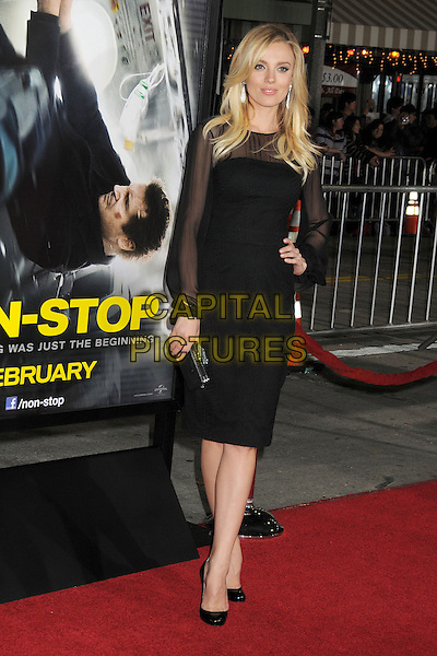 LOS ANGELES, CA - FEBRUARY 24 - Bar Paly. &quot;Non-Stop&quot; Los Angeles Premiere held at the Regency Village Theatre. <br /> CAP/ADM/BP<br /> &copy;Byron Purvis/AdMedia/Capital Pictures