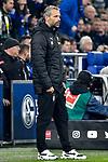 17.01.2020, VELTINS-Arena, Gelsenkirchen, GER, DFL, 1. BL, FC Schalke 04 vs Borussia Moenchengladbach, DFL regulations prohibit any use of photographs as image sequences and/or quasi-video<br /> <br /> im Bild / picture shows / Marco Rose (Borussia Moenchengladbach) unzufrieden / enttaeuscht / niedergeschlagen / frustriert, <br /> <br /> Foto © nordphoto/Mauelshagen