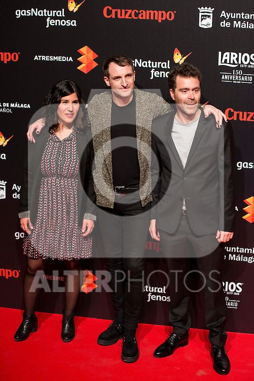 Julian Villagran attends to the cocktail presentation of the XIX Malaga Film Festival at Circulo de Bellas Artes in Madrid. April 06, 2016. (ALTERPHOTOS/Borja B.Hojas)