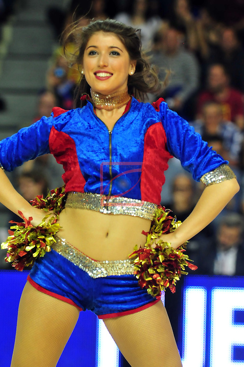 Euroleague Basketball-Playoffs -Game: 2.<br /> FC Barcelona vs Galatasaray Liv Hospital Istanbul: 84-63.<br /> Dream Cheers.