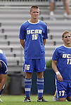 04 September 2011: UCSB's Mathew Glodack. The University of California Santa Barbara Broncos defeated the North Carolina State University Wolfpack 1-0 at Koskinen Stadium in Durham, North Carolina in an NCAA Division I Men's Soccer game.