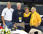 The University of Michigan men's basketball team welcomed former players to the annual UM basketball reunion at Crisler Arena in Ann Arbor, Mich., on September 24, 2011.