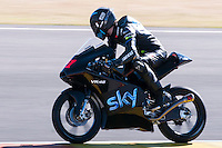 Brad Binder at pre season winter test IRTA Moto3 & Moto2 at Ricardo Tormo circuit in Valencia (Spain), 11-12-13 February 2014