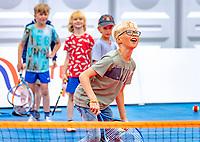 Den Bosch, Netherlands, 13 June, 2018, Tennis, Libema Open, Kidsday<br /> Photo: Henk Koster/tennisimages.com