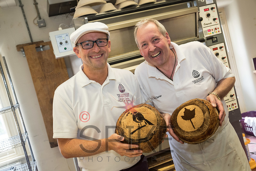 Wayne Caddy and David Carter of the School of Artisan Food