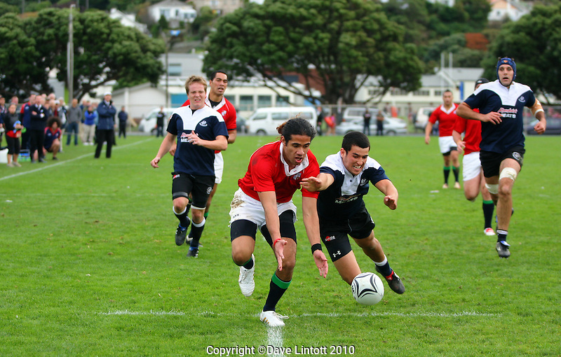 .Wellington Club Rugby - Swindale Shield, Marist St Pats v Petone, Evans Bay Park, Wellington. Saturday 15 May 2008. Photo: Dave Lintott