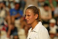 Roma 16 Maggio 2002<br /> Tennis Master Roma<br /> Sanex Wta Tour<br /> Ottavi di finale<br /> Jelena Dokic<br /> Roma Tennis Internazionali d'Italia 2002<br /> Foto Andrea Staccioli/Insidefoto