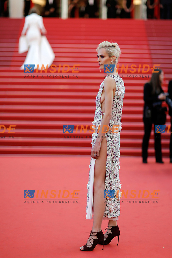 Aymeline Valade <br /> Cannes 20-05-2016 <br /> Festival del Cinema di Cannes 2016<br /> Foto Panoramic / Insidefoto