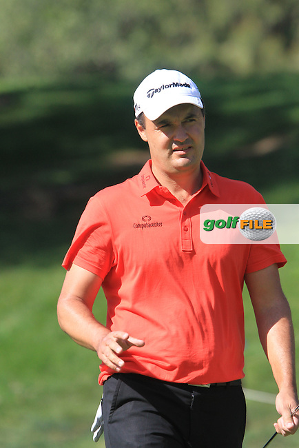 Simon Khan (ENG) on the 17th on Day 3 of the 2012 Open de Andalucia Costa del Sol at Aloha Golf Club, Marbella, Spain...(Photo Jenny Matthews/www.golffile.ie)