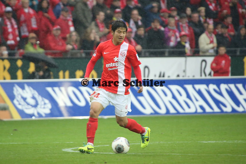 Jo-Hoo Park (Mainz) - 1. FSV Mainz 05 vs. TSG 1899 Hoffenheim, Coface Arena, 8. Spieltag