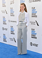 SANTA MONICA, CA. February 23, 2019: Amanda Seyfried at the 2019 Film Independent Spirit Awards.<br /> Picture: Paul Smith/Featureflash