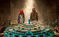 Aquaman (2018) <br /> Jason Momoa &amp; Amber Heard<br /> *Filmstill - Editorial Use Only*<br /> CAP/RFS<br /> Image supplied by Capital Pictures