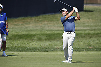 Francesco Molinari (ITA) plays his second shot on the 9th hole during the first round of the 100th PGA Championship at Bellerive Country Club, St. Louis, Missouri, USA. 8/9/2018.<br /> Picture: Golffile.ie | Brian Spurlock<br /> <br /> All photo usage must carry mandatory copyright credit (© Golffile | Brian Spurlock)