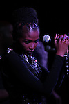 South African superstar, Simphiwe Dana.<br /> performs at the Red Rooster's Ginny's Supper Club in Harlem, NY