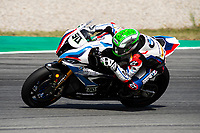 8th July 2020; Circuit de Barcelona Catalunya, Barcelona, Spain; FIM Superbike World Championship tests;  Day One; Eugene Laverty of the BMW Motorrad WORLDSBK Team in action with the BMW S1000 RR