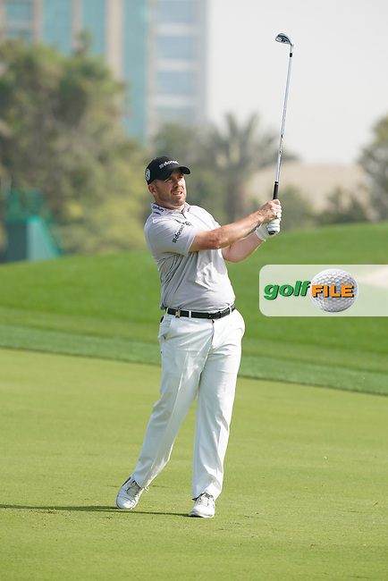 Richie Ramsay (SCO) in action during the third round of the Omega Dubai Desert Classic, Emirates Golf Club, Dubai, UAE. 26/01/2019<br /> Picture: Golffile | Phil Inglis<br /> <br /> <br /> All photo usage must carry mandatory copyright credit (&copy; Golffile | Phil Inglis)