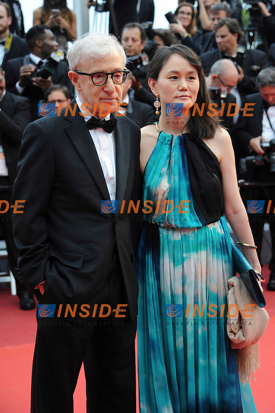 WOODY ALLEN - Soon Yi Previn (FEMME DE WOODY ALLEN)<br /> Festival di Cannes 2016 <br /> Foto Panoramic / Insidefoto