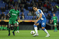 7th November 2019; RCDE Stadium, Barcelona, Catalonia, Spain; UEFA Europa League Football, Real Club Deportiu Espanyol de Barcelona versus PFC Ludogorets Razgrad; Bernardo Espinosa comes forward on the ball - Editorial Use