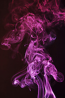 Incense Smoke shot with multiple flash using colour gels