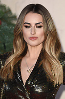LONDON, UK. November 21, 2018: Amber Davies at the &quot;Surviving Christmas with the Relatives&quot; premiere at the Vue Leicester Square, London.<br /> Picture: Steve Vas/Featureflash