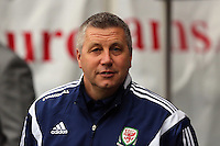 Pictured: U21 Wales manager Geraint Williams. Monday 19 May 2014<br />