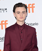 """TORONTO, ONTARIO - SEPTEMBER 07: Jaeden Martell attends the """"Knives Out"""" premiere during the 2019 Toronto International Film Festival at Princess of Wales Theatre on September 07, 2019 in Toronto, Canada.     <br /> CAP/MPI/IS<br /> ©IS/MPI/Capital Pictures"""