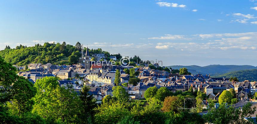 France, Nièvre (58), Morvan, Château-Chinon // France, Nievre, Morvan, Chateau Chinon