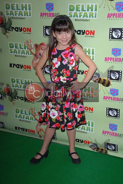 """Chloe Noelle<br /> at the """"Delhi Safari"""" North American Premiere, Pacific Theaters, Los Angeles, CA 12-03-12<br /> David Edwards/DailyCeleb.com 818-249-4998"""